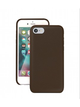 COQUE IPHONE 6/6S EN CUIR DE LUXE EXCLUSIVE CASE CHOCOLAT