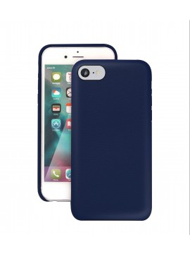 COQUE IPHONE 6/6S EN CUIR DE LUXE EXCLUSIVE CASE BLEU MARINE