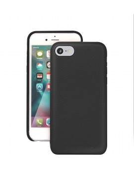 COQUE IPHONE 7 EN CUIR DE LUXE EXCLUSIVE CASE NOIR
