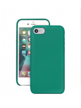 COQUE IPHONE 7 EN CUIR DE LUXE EXCLUSIVE CASE VERT