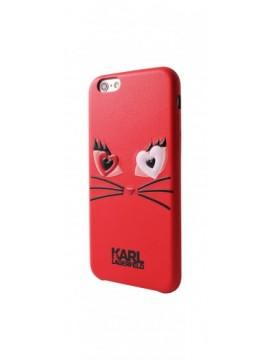Coque rigide KARL LAGERFELD pour modèle IPHONE 6/6S - KLHCP6CL2RE
