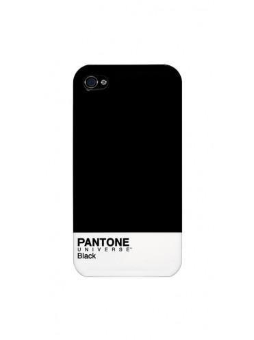 Coque rigide PANTONE pour modèle IPHONE 4/4S - PACOQBLACKIP4S
