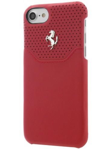coque iphone 7 rouge rigide