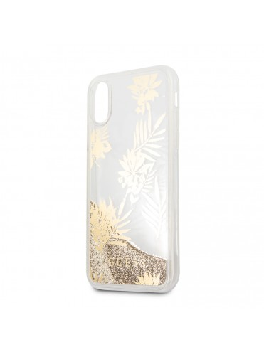 coque iphone x paillette rigide