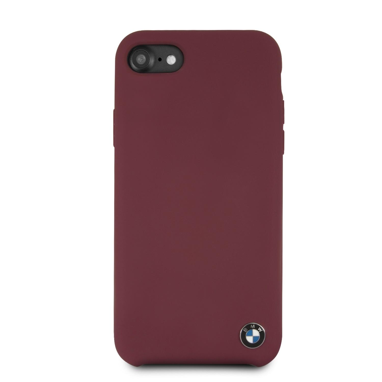coque iphone 8 silicone bordeaux