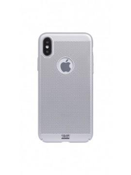 Coque rigide COLORBLOCK pour modèle IPHONE X - CBPCOVPERFIP8SLV
