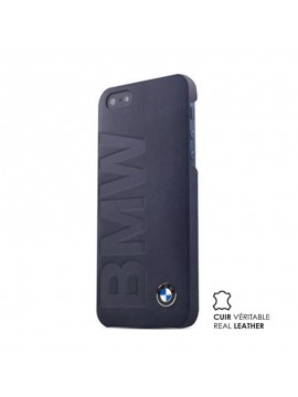 COQUE EN CUIR NOIR BMW SIGNATURE COLLECTION