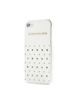 Coque rigide KARL LAGERFELD pour modèle IPHONE 4/4S - KLHCP4TRSW