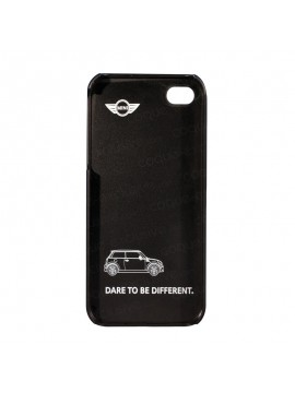 COQUE RIGIDE MINI BRIT CAR COLLECTION / NOIR