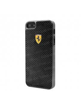 COQUE RIGIDE FERRARI SCUDERIA COLLECTION CARBONE POUR iPHONE 6 4.7 POUCES