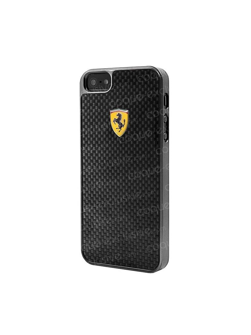 coque rigide ferrari scuderia collection carbone pour iphone 6 4 7 pouces. Black Bedroom Furniture Sets. Home Design Ideas
