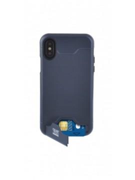 Coque rigide COLORBLOCK pour modèle IPHONE XS - CBPCOVCARDIP8NV