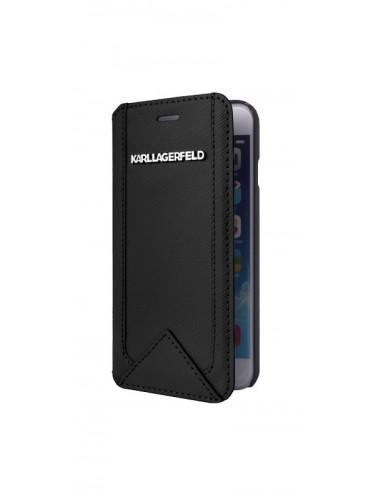 Etuis à rabat KARL LAGERFELD pour modèle IPHONE 6/6S - KLFLBKP6SABK