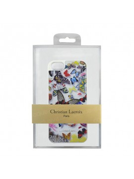 COQUE RIGIDE CHRISTIAN LACROIX BUTTERFLY PARADE BLANC